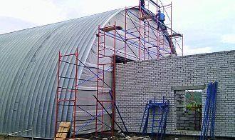 Строительство ангаров в Москве