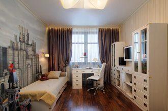 Дизайн интерьера комнаты в Москве