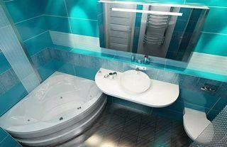 Фото варианты Дизайн ванной комнаты в Москве