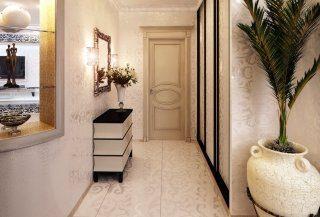 Фото варианты Дизайн коридора в Москве