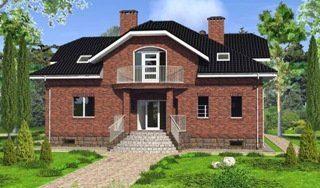 Проекты домов из кирпича 6х10 в Москве
