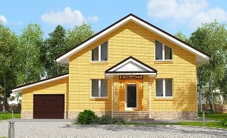 Проекты домов из кирпича 6х12 в Москве