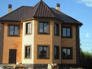 Проекты домов из кирпича 7х9 в Москве