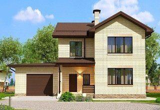 Проекты домов из кирпича 7х10 в Москве