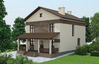 Проекты домов из кирпича 9х10 в Москве