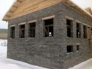 Строительство домов из арболита в Москве под ключ