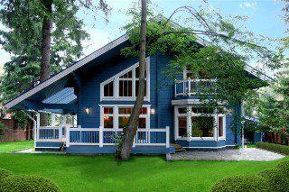 Строительство каркасных домов в скандинавском стиле в Москве под ключ