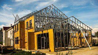 Строительство домов из ЛСТК в Москве под ключ