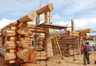 Строительство рубленых домов в Москве под ключ