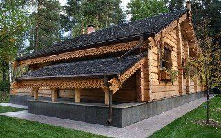 Строительство деревянных домов в русском стиле в Москве под ключ