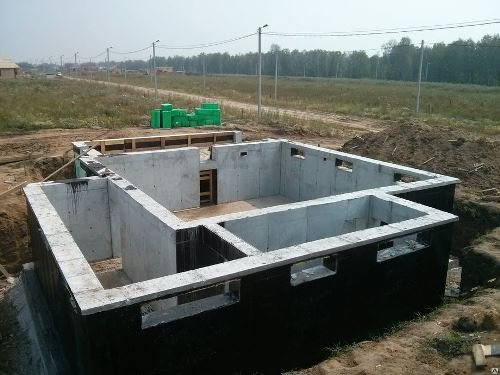 Строительство цокольного фундамент в Москве