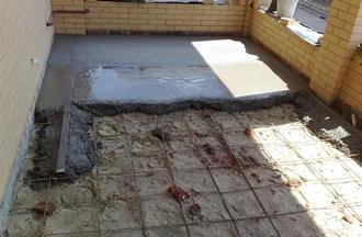 Залить пол в гараже бетоном под ключ