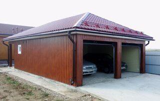 Каркасный гараж на две машины купить гараж в запорожье осипенковский