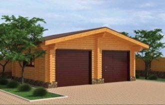 Построить гараж на даче под ключ