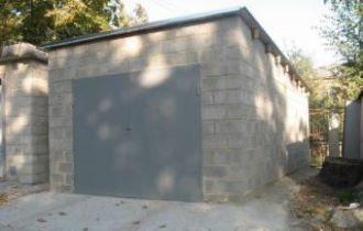 Строительство гаража из пеноблоков в Москве