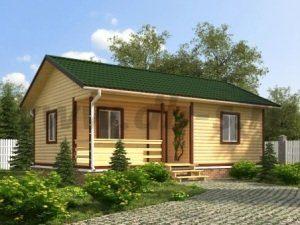 Щитовые дачные дома под ключ в Москве