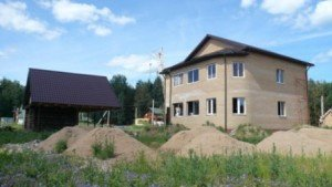 Строительство загородных домов в Москве