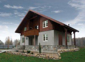 Строительство комбинированных домов в Москве