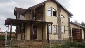 Строительство дома под ключ с коммуникациями в Москве