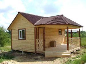 Строительство деревянных бань под ключ в Москве