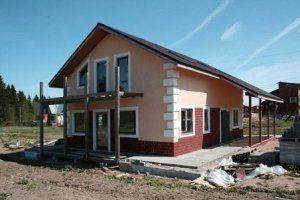 Строительство частного дома под ключ в Москве