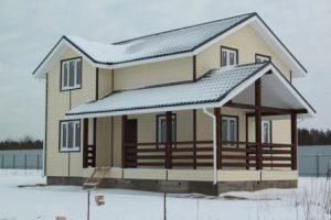 Зимний дом под ключ в Москве
