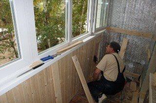 Ремонт балкона под ключ в Москве