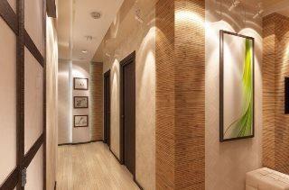 Ремонт коридора 4 кв м в Москве под ключ