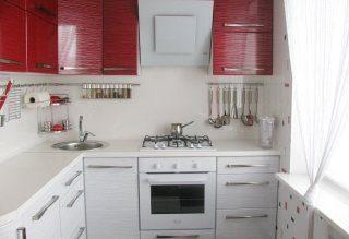 Ремонт кухни 2 на 3 метра в Москве под ключ