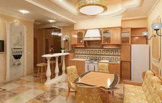 Элитный ремонт кухни в Москве