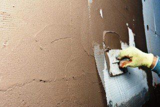 Фото процесса Штукатурка стен в Москве