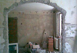 Фото процесса Перепланировка стен в Москве