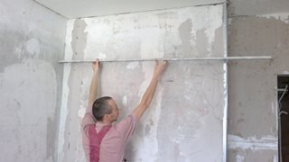 Выравнивание стен в Москве