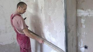 Фото процесса Выравнивание стен в Москве