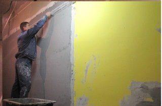 Малярно-штукатурные работы при ремонте квартиры