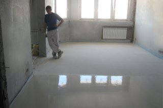 Фото процесса Малярно-штукатурные работы при ремонте квартиры