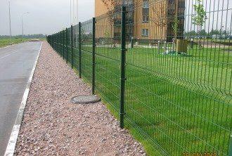 Забор из сетки гиттер (gitter) в Москве