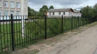 Металлический забор в Москве