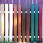 Заборы из металлического штакетника