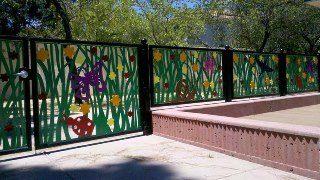 Забор для детского сада в Москве