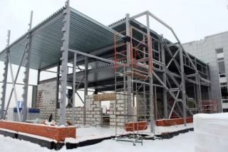 Строительство автосалонов в Москве